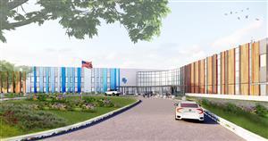 K-6 Building rendering