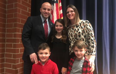 SV School Board welcomes Mike Jacobs