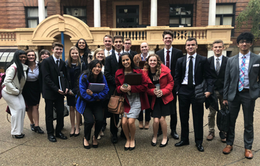 SV delegation stands out at Model UN