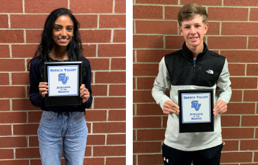 September 2020 - Athletes of the Month