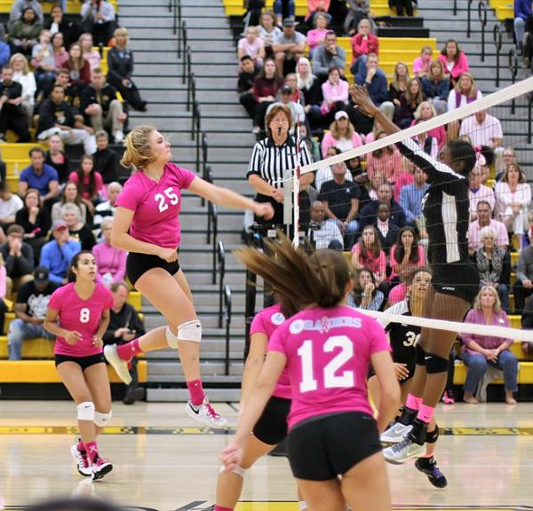 Girls Volleyball Wins First Round State Match-Up