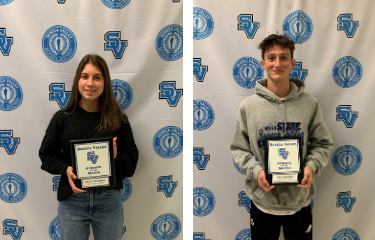 November 2019 - Athletes of the Month