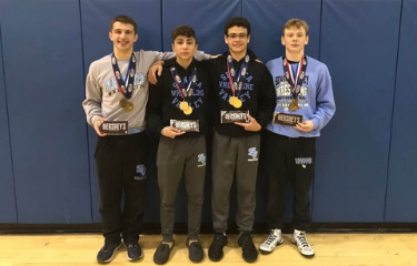 SV Wrestlers advance four to PIAA State Championships