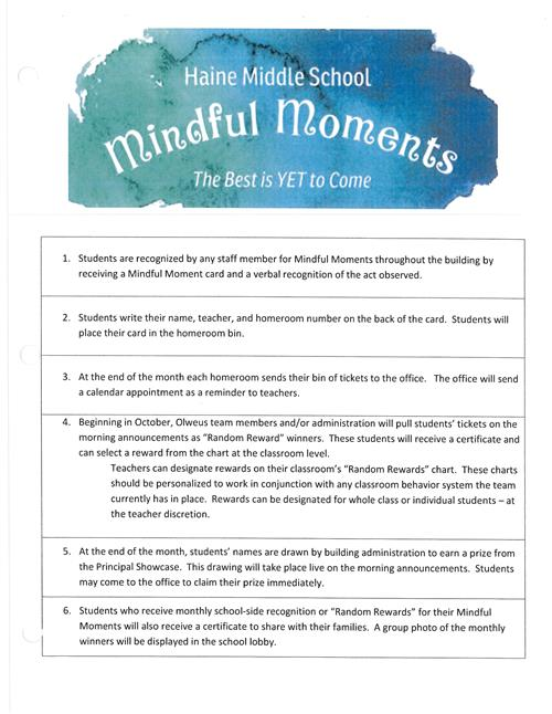 Mann   Fornadel   Fagan  Mindful Moments  Team