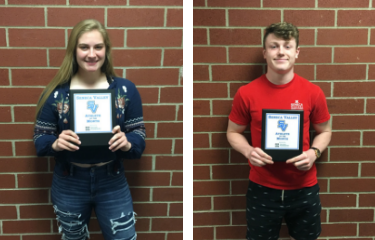 March - Athletes of the Month
