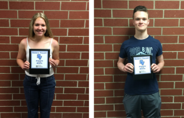 April - Athletes of the Month
