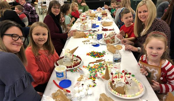 Grade One Gingerbread Houses 2018