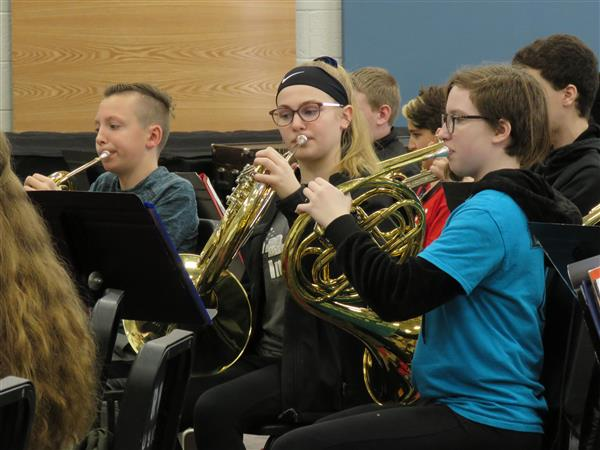 Grade Six Band Trip to SRU