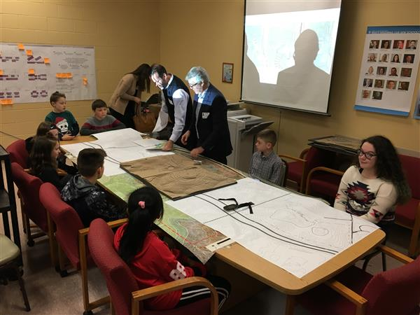 Students Meet with Architects of New K-6 Facility