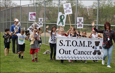 S.T.O.M.P. Out Cancer Walk 2019