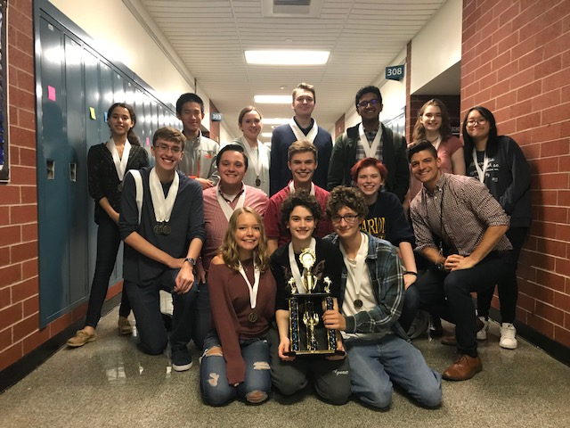 SV Academic Decathlon Takes 1st Place
