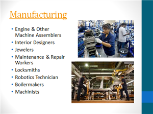 Career Clusters / Manufacturing