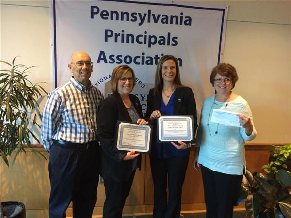 2017-February: PA Principals Assoc. Bob D. Schiller Memorial Cancer Research & Support Award