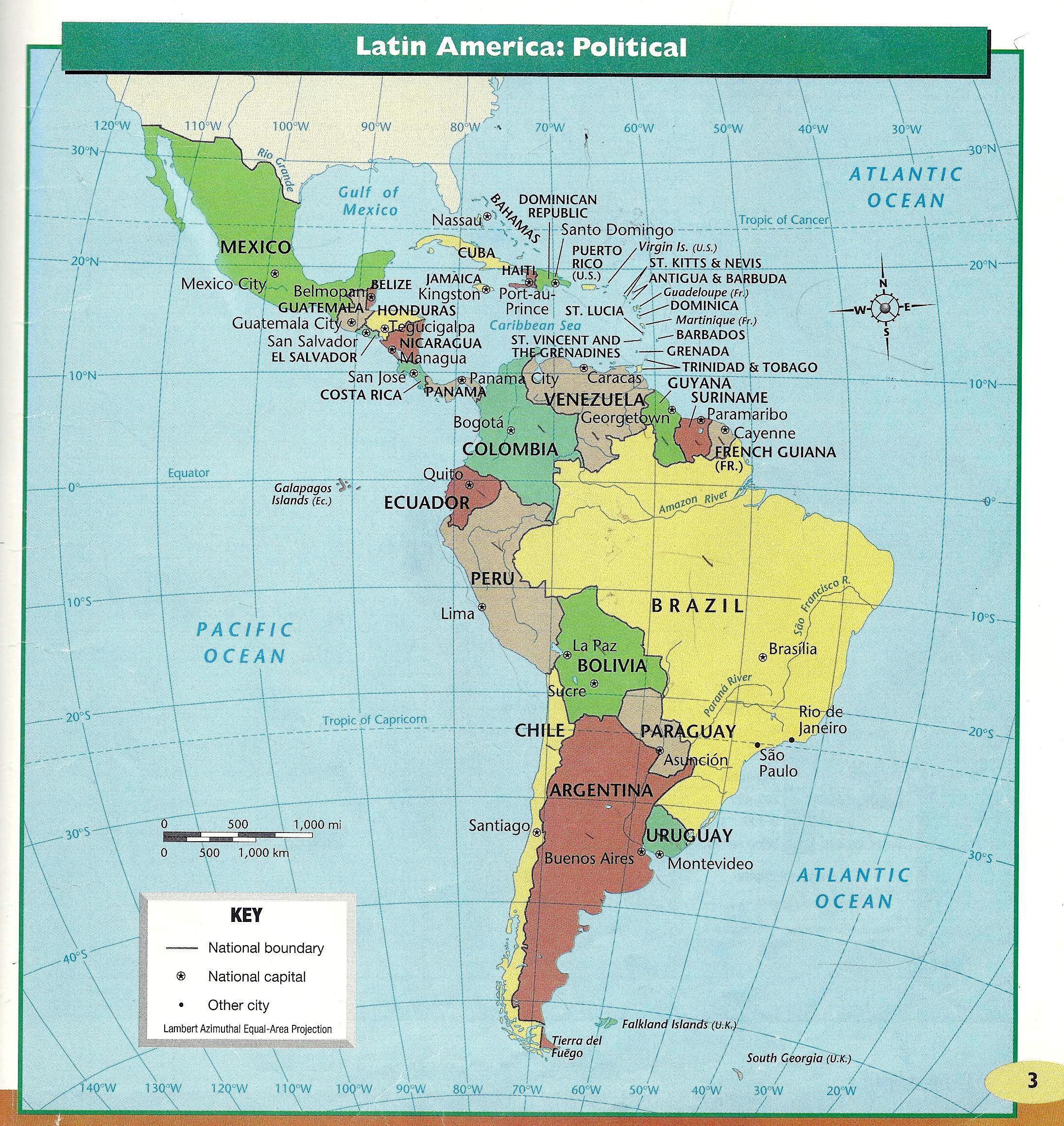 Adams, S / Latin America Project Links